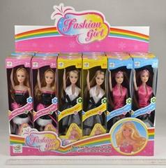 乐淇儿11.5寸时尚展示盒芭比娃娃