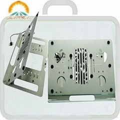Aluminum laptop cooling stand