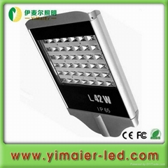 42w epistar led street light IP65 with ce rohs 3 years warranty