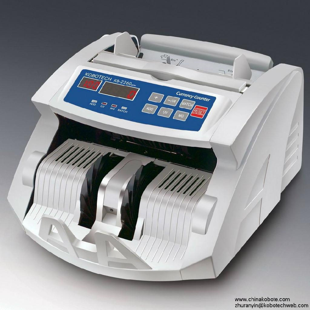 Kobotech KB-2260 Back Feeding Money Counter Series Note Bill Counting Machine 1