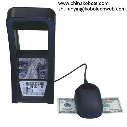 Kobotech KB-50 Documents IR Detector Money Note Bill Cash Currency Image Fake 1