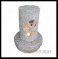 china garden stone lantern customized