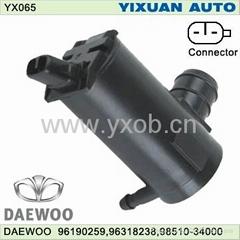 DAEWOO96190259 car washer pump/windshield washer