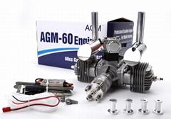 AGM 60cc Twin Gasoline Engine