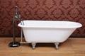 Roll top bathtub