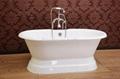 Cast iron pedstal bathtub