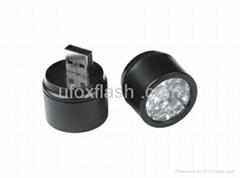 USB flashlight power bank