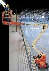 JLG电动型曲臂自行式高空作业平台
