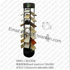 SR001 Quartz Stone Display Rack