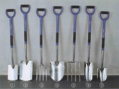 Garden Tools Stainless Spade and Fork