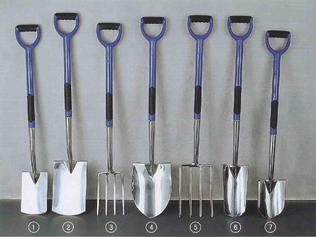 Garden tools stainless spade and fork china manufacturer for Garden tools equipment