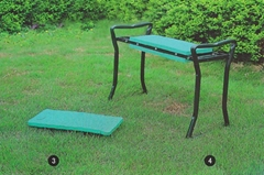 Garden folding stool