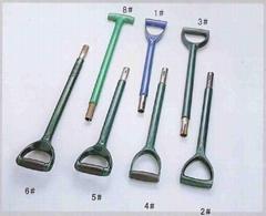 園林工具剷和叉手柄