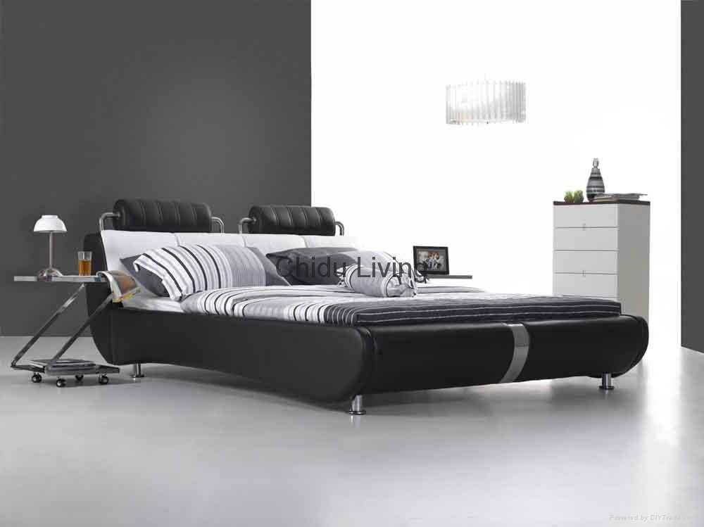 leather bed furniture 5