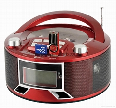 rechargeable am fm outdoor boombox radio