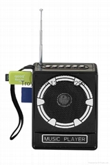 NS-017U top sale cheapest fm speaker radio with usb sd