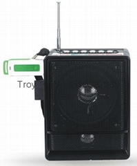 NS-018U best rechargeable fm radio speaker