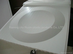 Colored PVC Wall Tile Board 3d Ceiling Panels