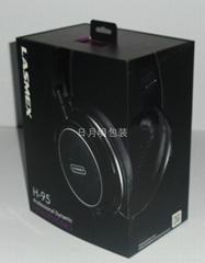 耳機禮品盒高檔商務用品出口包裝紙盒彩盒