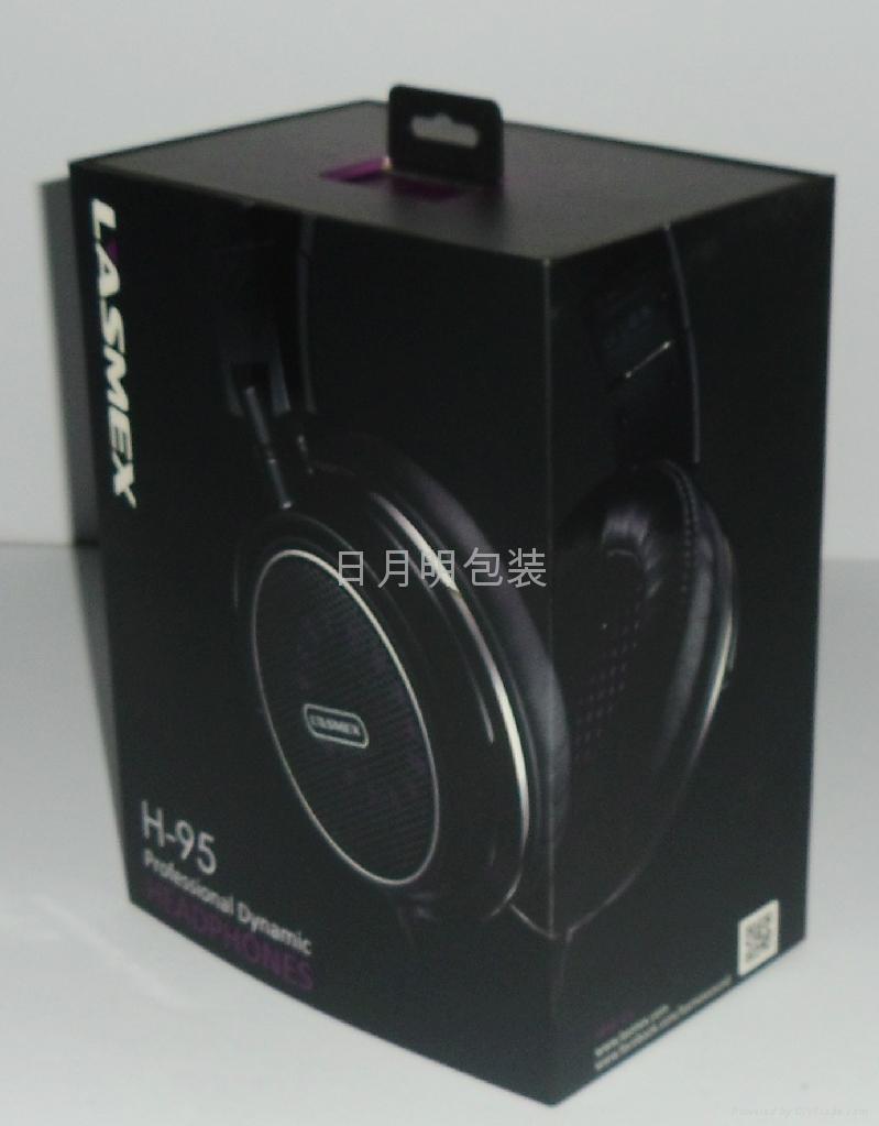 耳機禮品盒高檔商務用品出口包裝紙盒彩盒 1