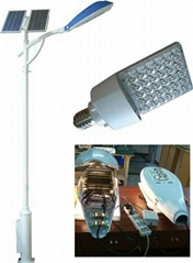 Solar Power LED Lamp Street Light System