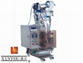 Granule automatic vertical filling and