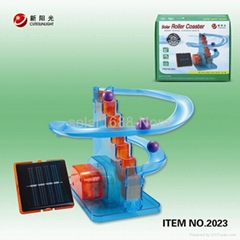 solar power coaster toys for child
