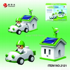 green life-solar car kit