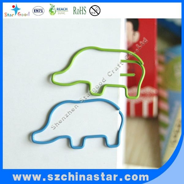 Stargood supplier fancy pig shape paper clip PET coate iron wire 2