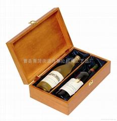 曹縣生產松木多瓶裝酒包裝盒