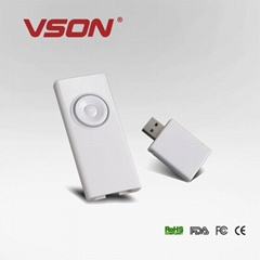 High quality mouse with usb and laser pointer