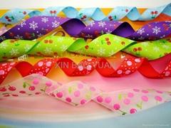 Wholesale printed woven strap ribbon