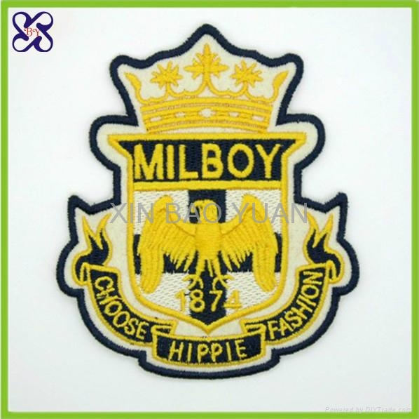 embroidery patches badges embroidered label applique patches 1