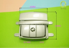 qifeng new design metal luggage lock q-1495 hot in India