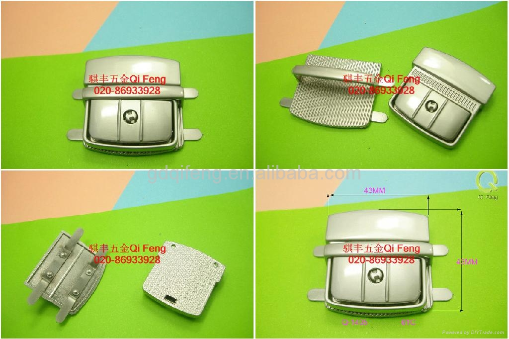 qifeng new design metal luggage lock q-1495 hot in India 3