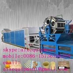 recycling paper pulp egg tray making machine