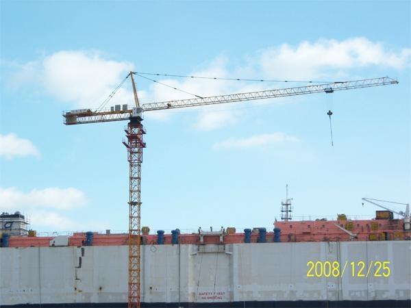 Tower crane QTZ5008 1