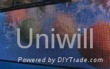 Outdoor Full Color Curtain LED Display