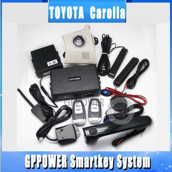 push button start device for toyota corolla gp 005 gppower
