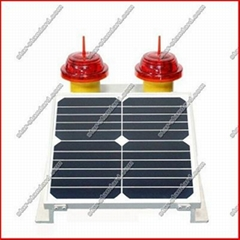 Solar Type a Low-Intensity Aviation Obstacle Light/Lamp