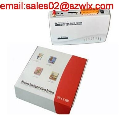 home wireless gsm home alarm system with led display 2