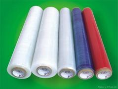 polyethylene handle stretch film
