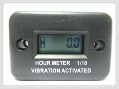 LCD Wireless Vibration Hour Meter for mower aerator ast tralier turf seeders