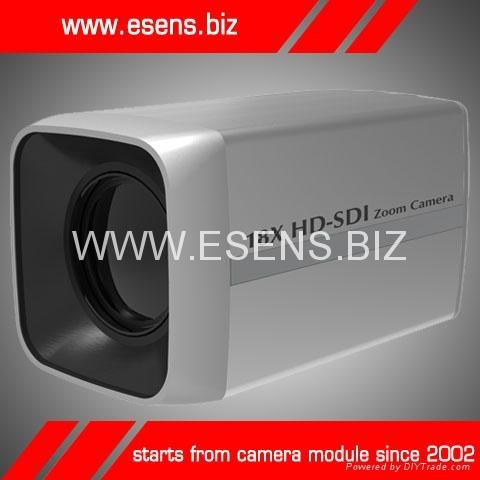 Megapixel HD-SDI Camera  Sony CMOS 18x Zoom  1080-pixel HD  12V DC Power Suppl 1