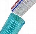 PVC steel wire reinforced  hose 1