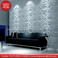 CTP 3d wall panel wallpaper plastic material fireproof waterproof