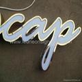 Front lit acrylic Led channel letter 3
