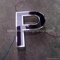 Front lit acrylic Led channel letter 4