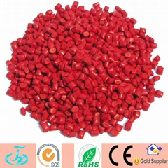 Injection molding plastic raw material Red color masterbatch
