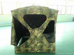 Camouflage Coated PU Hunting Blind